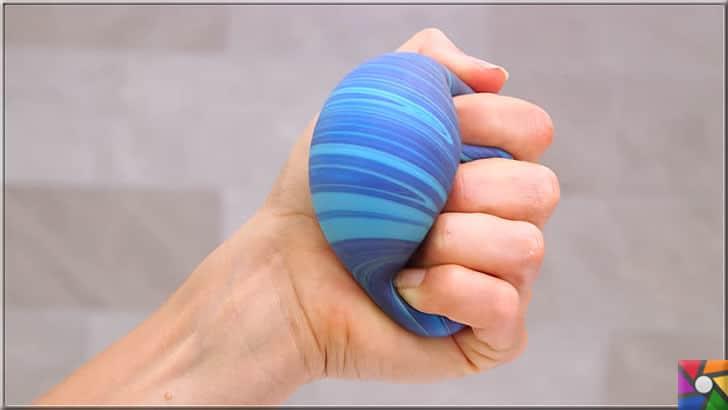 Stres topu nasıl yapılır? Stres topunun faydaları nelerdir? Kendin YAP | Stresinizi atmak için sıkabildiğiniz kadar sıkın stres topunu