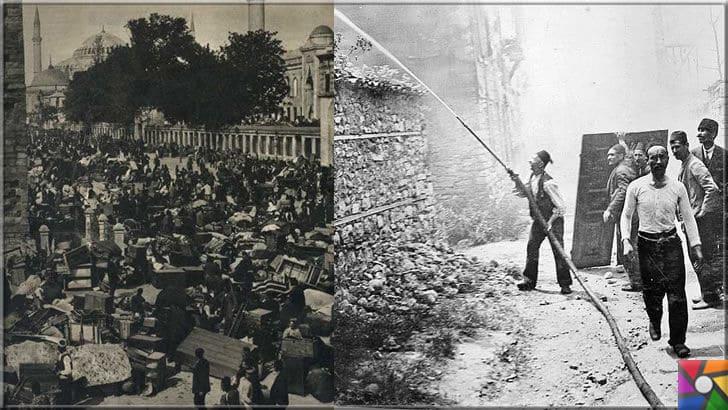 Tarihte İstanbul'da yaşanan en büyük afetler ve yangınlar hangileridir? | Bir anda hiç bir şeyi kalmayan insanlar alanlarda ve meydanlarda toplanmışlar, eski İstanbullular çok çile çekmiştir