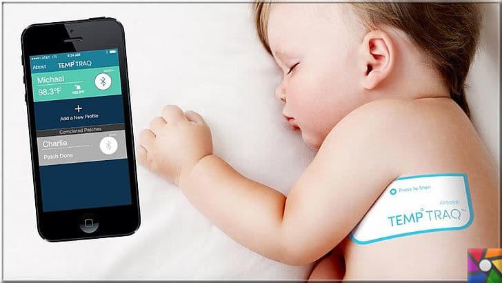 Teknoloji neden önemlidir? Teknoloji nasıl doğru kullanılır? | bebeklerin ateşlerini ölçmek için kullanılan cihazlar yerine akıllı ısı ölçer bantları geldi