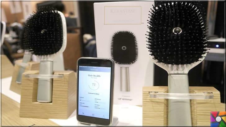 Teknoloji neden önemlidir? Teknoloji nasıl doğru kullanılır? | Saç bakımında bile akıllı fırçalar kullanılarak saçların dökülme oranları hesaplanabiliyor