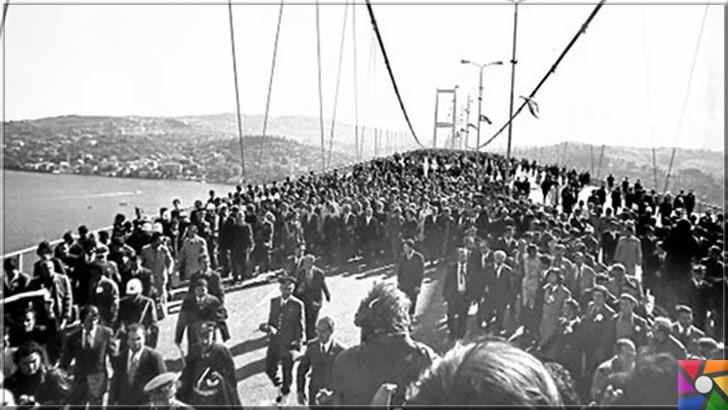 Boğaziçi Köprüsü ne zaman açıldı? Boğaziçi Köprüsünün tarihi | Türkiye'nin ilkleri | Boğaziçi Köprüsü ilk açılış günü