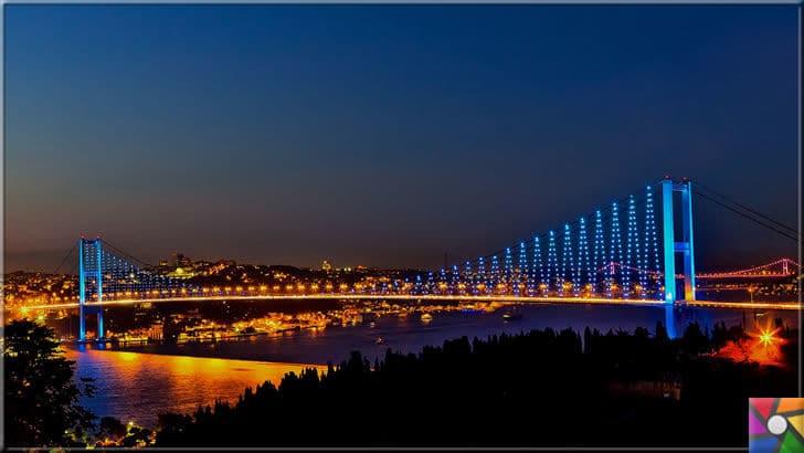 Boğaziçi Köprüsü ne zaman açıldı? Boğaziçi Köprüsünün tarihi | Türkiye'nin ilkleri | Boğazın incisi Boğaziçi Köprüsü'nün gece fotoğrafı