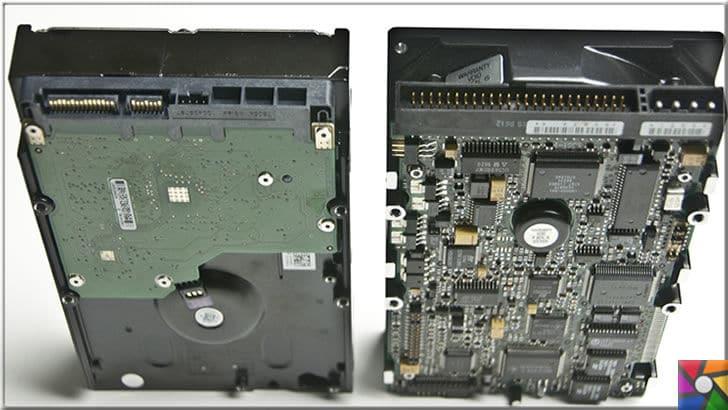 HDD (Hard Disk) Nedir? Ne işe yarar? Çeşitleri ve Farkları nelerdir? | Sol taraftaki Sata HDD, sağdaki ise artık pek piyasada bulunmayan Pata HDD yada IDE Diskte deniliyor