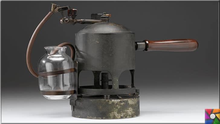 Modern cerrahinin babası Joseph Lister kimdir? Hayatı ve Buluşları | Lister fotoğrafta görülen aletle, karbolik asidi ısıtarak, havaya püskürtüyordu. Böylece ameliyathaneler antiseptik olabiliyordu