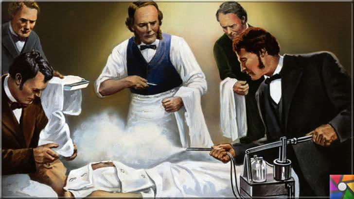 Modern cerrahinin babası Joseph Lister kimdir? Hayatı ve Buluşları | Lister'in bir ameliyat esnasında tasvir edildiği resim