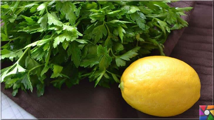 Maydanoz neden yenmeli? Maydanozun yararları ve zararları nelerdir? | Maydanoz limonla birleştiğinde tam bir süper gıda haline geliyor