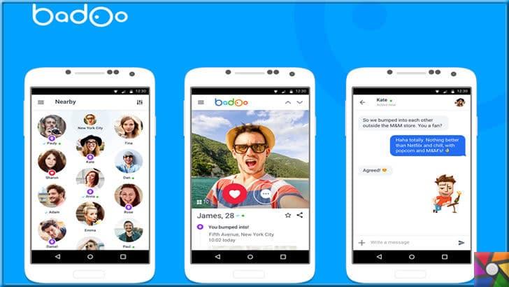Dünyada en çok kullanılan 6 online arkadaş edinme uygulamaları | Badoo kolay kullanımı ile online arkadaşlık uygulamaları içinde yoğun kullanılıyor