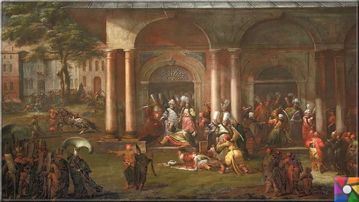 Osmanlı devrinde İstanbul'un tarihinde yaşanan 3 sıradışı yasak | Patrona Halil İsyanını anlatan tablo