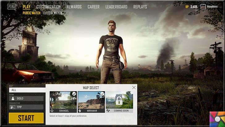 Oyuncuların vazgeçemediği Player Unknown Battle Ground: PUBG Nedir? | Oyun tasarım ve menüsü kullanışlı olduğu için çok başarılı