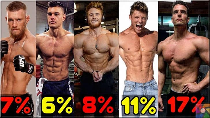 Sporculara neden yağ gerekli? İdeal vücudun yağ oranı nedir? | Erkek sporcularda yağ oranlarının gerçek görünüşleri