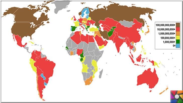 Türkiye'de ilk doğal gaz ne zaman kullanılmaya başlandı? | Dünyanın doğal gaz kaynakları haritası