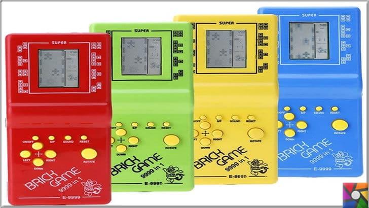 1990'lı yılların en unutulmaz 10 oyunu hangileridir?| 90'lı yılların unutulmaz oyunları ve oyuncakları içinde 7'den 77'ye hiç kimsenin unutmadığı cihaz Tetris