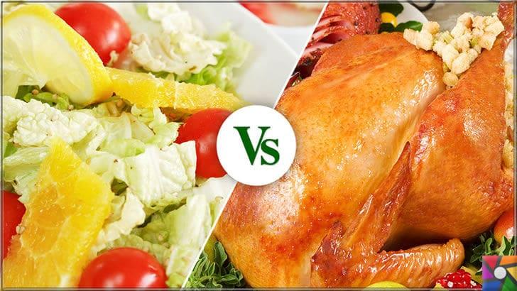 Bitkisel tabanlı beslenme Veganlık ne kadar yararlı? Et yemek zararlı mı? | Son zamanların en büyük kapışması diyebiliriz