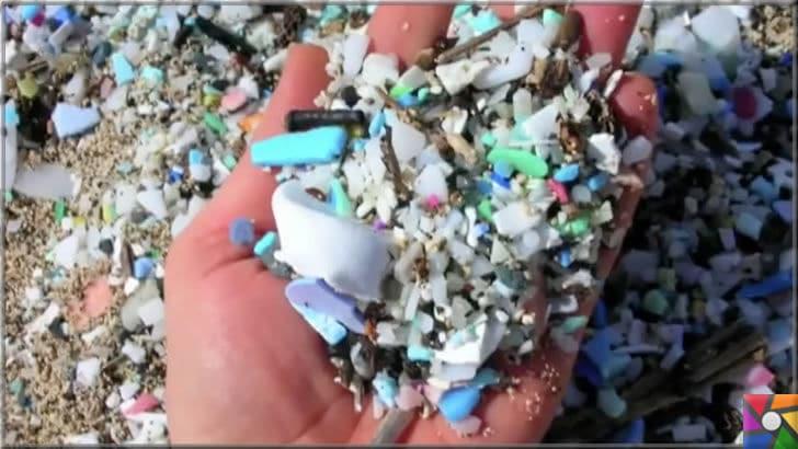Çevre düşmanı Plastik sektörünün dolu dizgin yükselişi devam ediyor! | Mikroplastik parçalar