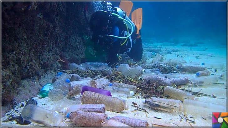 Çevre düşmanı Plastik sektörünün dolu dizgin yükselişi devam ediyor! | Denizin dipleri platik çöplüğü