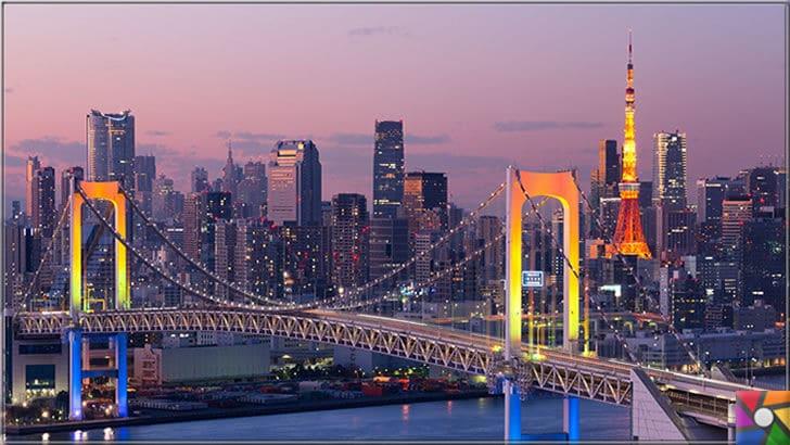 Dünya genelinde en çok turist çeken ilk 6 şehir hangileridir? | Tokyo şehir merkezi gün batımı fotoğrafı