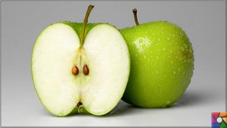 Elma çekirdekleri zehirli mi? Elma kabuğundaki tarım ilacı zararlı mı?