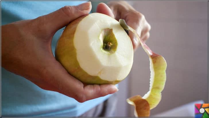 Elma çekirdekleri zehirli mi? Elma kabuğundaki tarım ilacı zararlı mı? | Elma kabuğu üzerinde tarım ilacı bulunduğu için çoğu kişi elmanın kabuğunu soyar ama lif deposu kabuklar çöpe gitmektedir