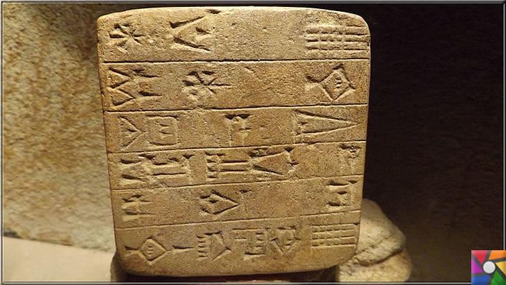 Matematik nasıl doğdu? İlk yazı nasıl bulundu? Matematiğin tarihçesi | İlk bulunan yazı tabletleri üzerinde matematik sayıları simge şeklindeydi