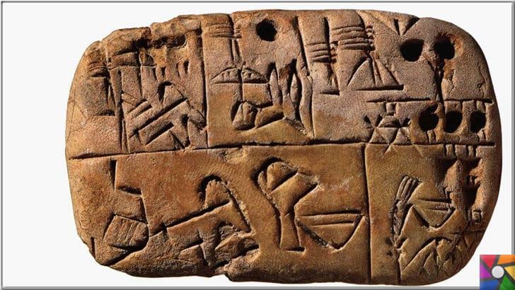 Matematik nasıl doğdu? İlk yazı nasıl bulundu? Matematiğin tarihçesi | Sümerler kil tabletlere simgeler çizerek her ürünü yazıya döküyordu
