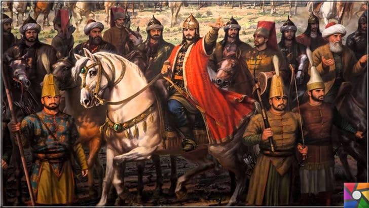 Doğru bildiğinden taviz vermeyen örnek bir alim: Molla Gürani kimdir? | Temsili İstanbul'un fethi resmi ve resim içinde Molla Gürani de bulunmakta