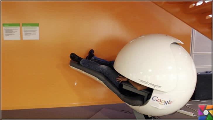 Öğlen uykusu yada Şekerleme yapmak neden faydalı? | Google çalışanları öğlen uykularını uyku kapsülleri içinde geçiriyor