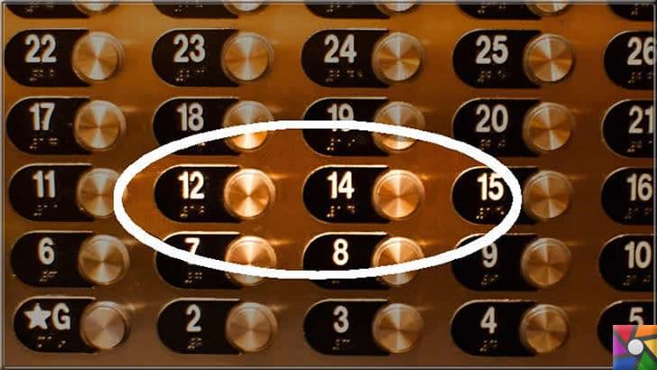 Dünya genelinde 13 sayısından başka uğursuz sayılar var mı? | ABD'de bazı binalarda 13. kat yok