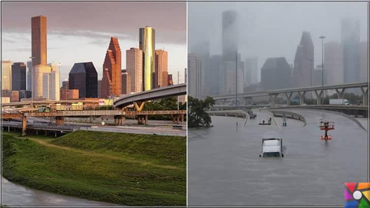 Doğanın gazabı kasırgaların şiddetleri neden giderek artıyor? | Harvey kasırgası Houston şehrinde yaşamı felç etti
