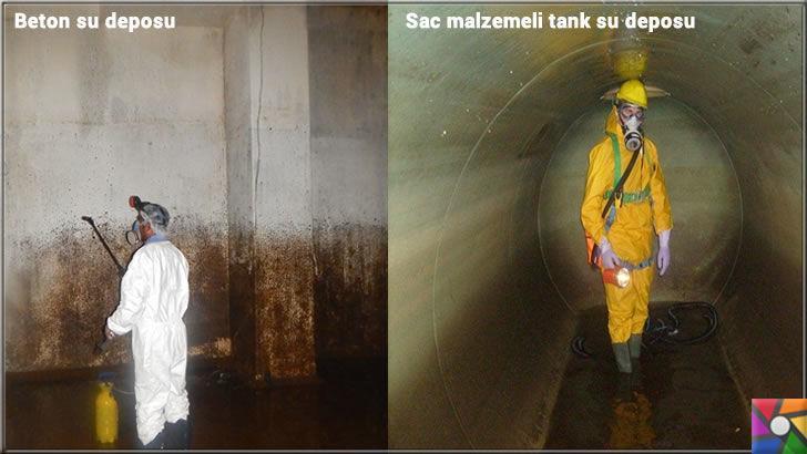 Su deposu temizliği neden yapılmalı? Su deposu nasıl temizlenir? | Su deposu yapılmadığı zaman diplerinin çamurla dolduğu görülmekte