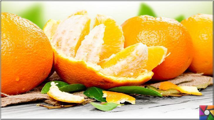 C vitamini deposu portakalın kabuğunda da ayrı bir şifa var