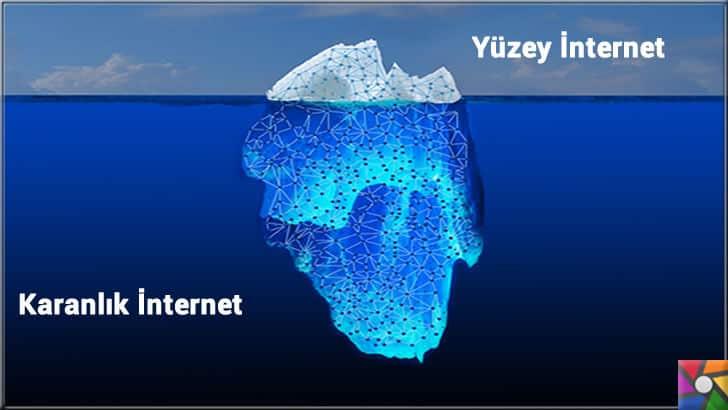İnterneti bir buz dağına benzetirsek, görülen yüzü görünmeyeninden çok az
