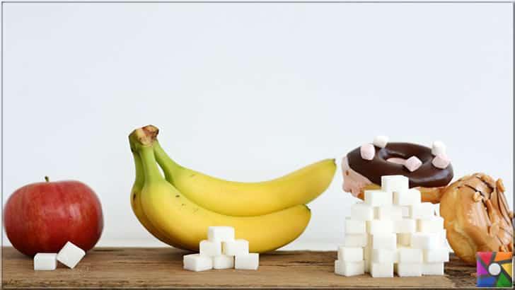 İşlenmiş şekerlerle yapılmış gıdalar kesinlikle meyvenin içindeki şekerle kıyaslanamaz. Meyve her zaman hazır gıdalardan yararlıdır