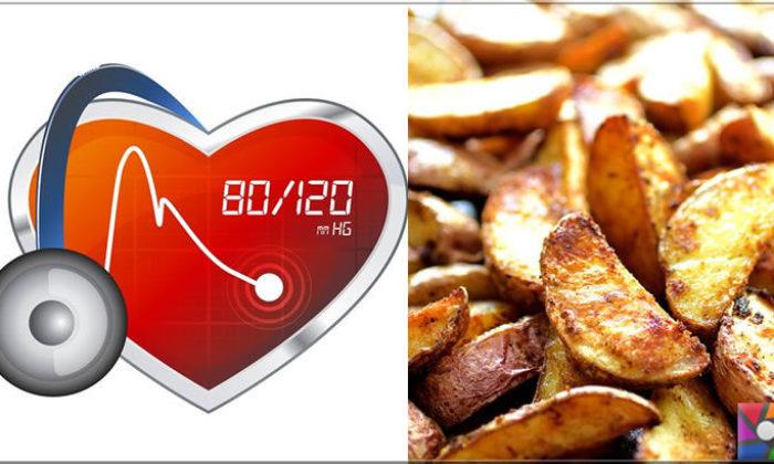 Patates ağırlıklı beslenme kan basıncını yükseltir mi?