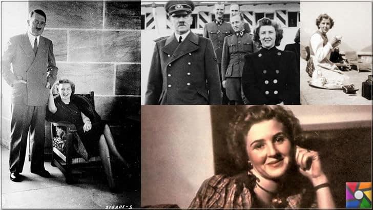 Adolf Hitler'in karısı Eva ile fotoğrafları