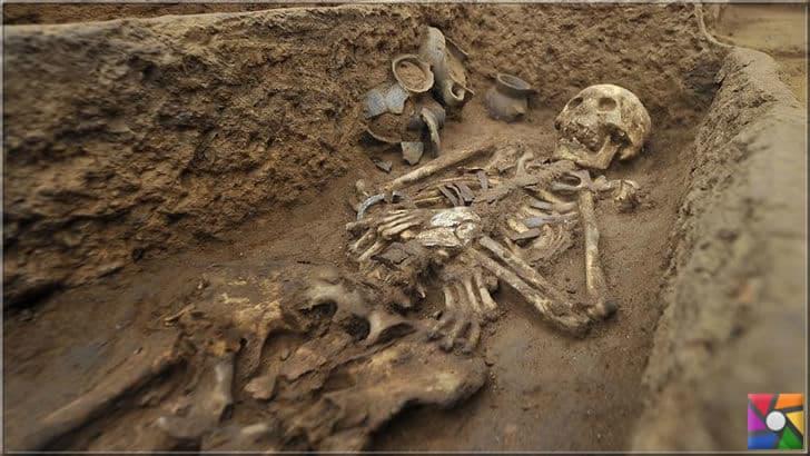Bulunan mezarlar atalarımızın ölülere saygı duyduklarını da gösteriyor