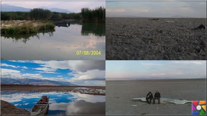 Eber gölü son 10 yılda göre göre kurudu