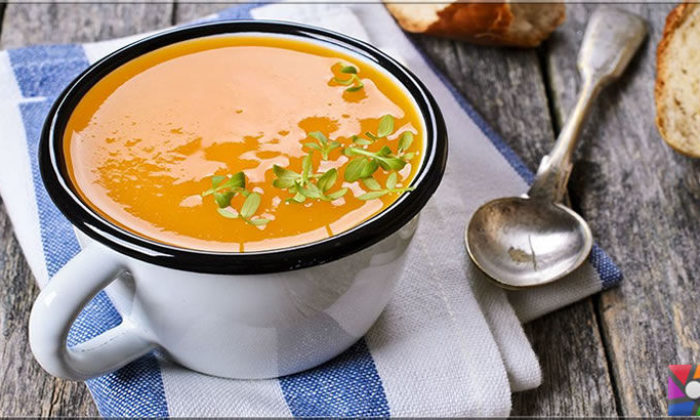 Zencefilli balkabağı çorbası nasıl yapılır?