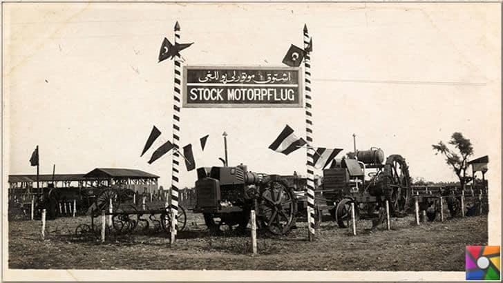 1924 yılında ilk defa Türkiye'de yapılan uluslararası tarım fuarı