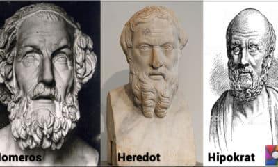 Anadolu tarihinin 3 önemli yazarı: Homeros, Heredot, Hipokrat
