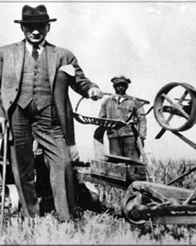 Tarım makineleri Türkiye'ye ne zaman geldi?