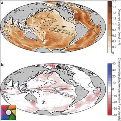 Okyanuslardaki oksijen seviyesi