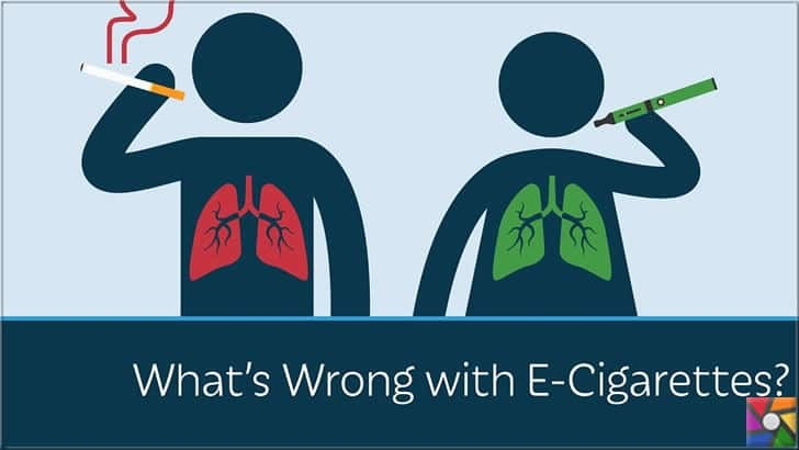Elektronik sigara ile ilgili olumlu reklamlar ile algı oluşturuldu