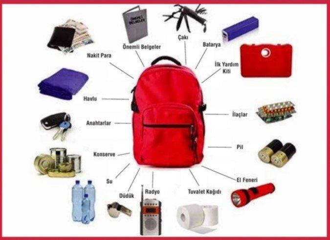 Deprem çantası hazır mı?