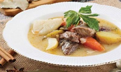 Baharatlı ve Terbiyeli Sebze çorbası tarifi