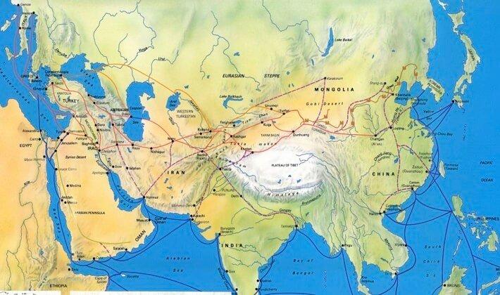 İpek yolu nedir? İpek yolu nasıl oluştu? İpek yolunun tarihçesi