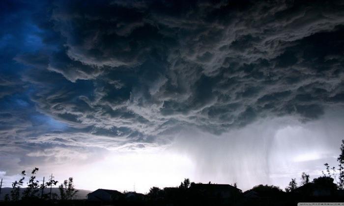 Yağmur bulutları neden gridir?
