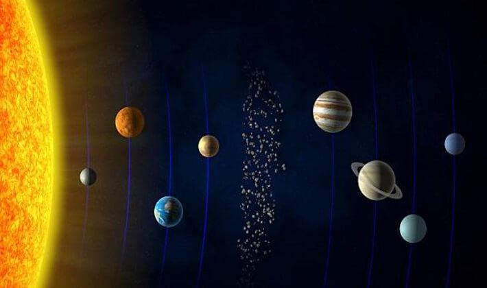 Güneş sistemindeki gezegenler | Güneş'e en yakın 2. gezegen Venüs ve sonrasında Dünya geliyor