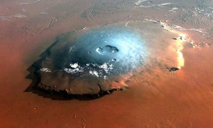 Mars'ta tuzlu su gölü bulundu