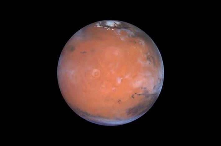 Kızıl gezgen Mars hala gizemlerle dolu. Güney kutbunda tuz gölü bulundu