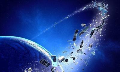 Uzay çöplüğü uydular için tehlike saçacak